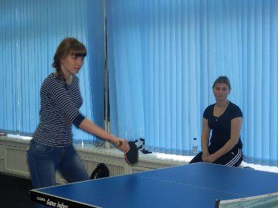 Открытое первенство ВГСПУ по настольному теннису для студентов города Михайловка