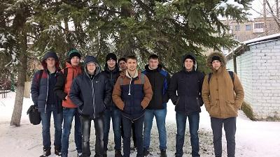 Студенты группы МТ-31о-13 посетили ОАО «Себряковцемент» в рамках проведения практических занятий