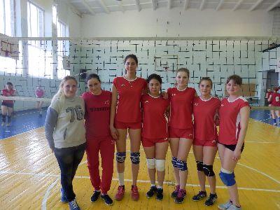Соревнования по волейболу в зачет 5-ой Спартакиады студентов городского округа город Михайловка