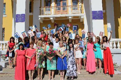 Торжественная церемония вручения дипломов отделения среднего профессионального образования