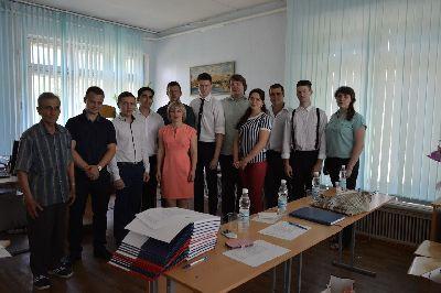 Состоялась защита  выпускных квалификационных работ студентов  кафедры строительных материалов и специальных технологий