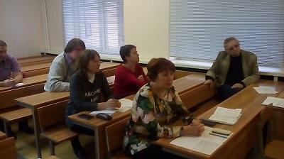 Заседание учебно-методического совета Себряковского филиала