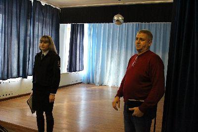 Тематическое занятие со студентами и родителями по теме: «Административная и уголовная ответственность несовершеннолетних по Российскому законодательству»