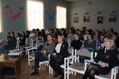 Встреча со студентамиМихайловского филиала