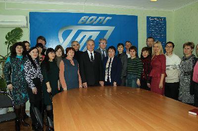 Приезд руководителей Волгоградского опорного технического университета в Себряковский филиал ВолгГТУ.