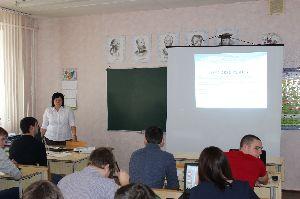 Открытая защита курсовых проектов на отделении СПОу преподавателя Сидоровой Н.Ю. в группе МЭ-41о-13 по МДК 02.02