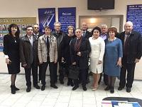Почетные гости из Волгограда, Волжского и Камышина