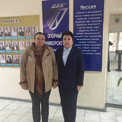 Себряковский филиал ВолгГТУ посетила генеральный директор АО «Михайловская ТЭЦ» Семисотова Любовь Викторовна.