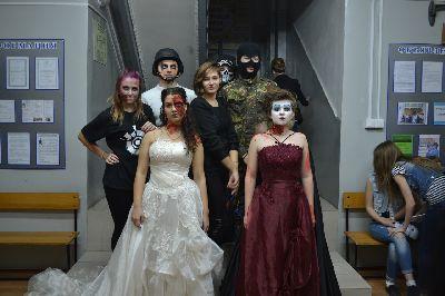 Halloween в Себряковском филиале ВолгГАСУ
