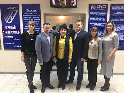 Себряковский филиал ВолгГТУ посетила делегация Камышинского технологического института