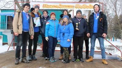 Открытые зимние городские соревнования «Наследники Победы-2018», посвященные 75-ой годовщине Сталинградской битвы
