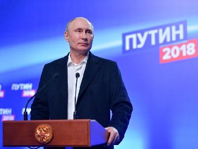 Владимир Путин победил на выборах Президента РФ с абсолютным рекордом
