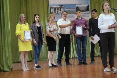 Церемония награждения победителей и призеров VII Спартакиады среди студентов городского округа город Михайловка