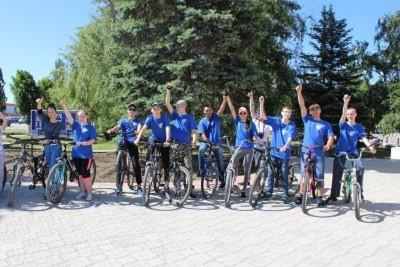 26 мая студенты и преподаватели Себряковского филиала ВолгГТУ стали участниками ежегодного традиционного велопробега
