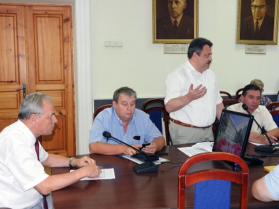 В опорном университете состоялось очередное заседание приемной комисии которое, как всегда, провел ректор вуза В.И. Лысак