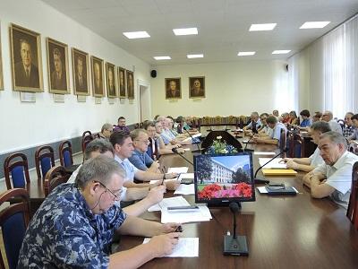 На заседании приемной комиссии были подведены итоги первого этапа зачисления в опорный университет