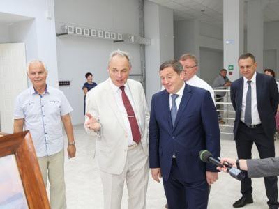 Губернатор области А.И. Бочаров посетил ВолгГТУ