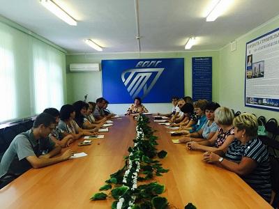 В Себряковском филиале ВолгГТУ состоялось заседание директората