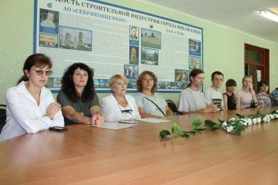 5 сентября администрация Себряковского филиала ВолгГТУ провела собрание для студентов 1курса бакалавриата