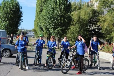 Студенты Себряковского филиала приняли участие в велопробеге