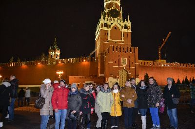 Поездка студентов в Москву