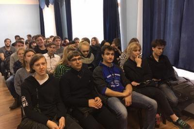 Заседание студенческого совета в Себряковском филиале опорного университета