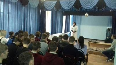 Студентам Себряковского филиала рассказали о профилактике ВИЧ/СПИДа