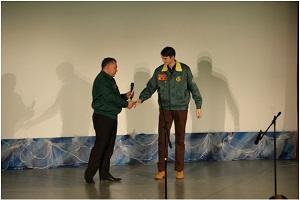 Смотр-конкурс студенческих отрядов 2015