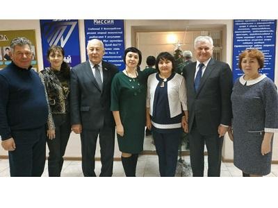 Встреча с коллективом Себряковского филиала ВолгГТУ стала  доброй традицией!