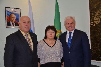 Предновогодняя встреча с депутатами Волгоградской областной Думы V созыва