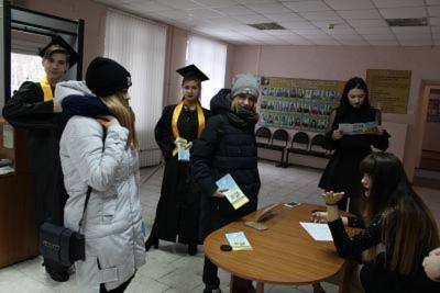 8 февраля в Себряковском филиале первого опорного технического университета состоялся день открытых дверей