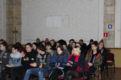ПредставителиСебряковского филиала провели встречу со студентами ГБПОУ «Себряковский технологический техникум»