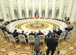 Президент России В.В. Путин проводит заседание Совета по науке и образованию. Прямая трансляция.