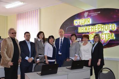 Приезд ректора ВолгГТУ А.В.Навроцкого в Себряковский филиал