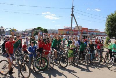 Студенты Себряковского филиала приняли участие велопараде