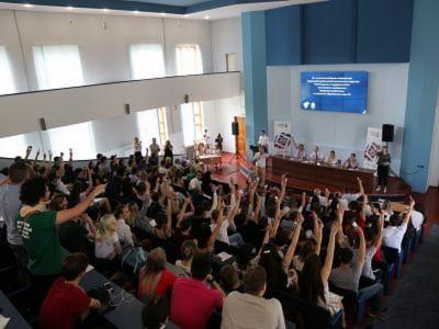В ВолгГТУ выбрали председателя первичной профсоюзной организации студентов