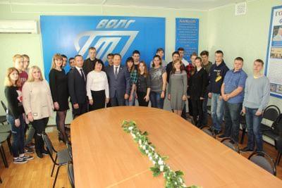 Депутат Волгоградской областной Думы Ю.А.Марамыгин посетил Себряковский филиал