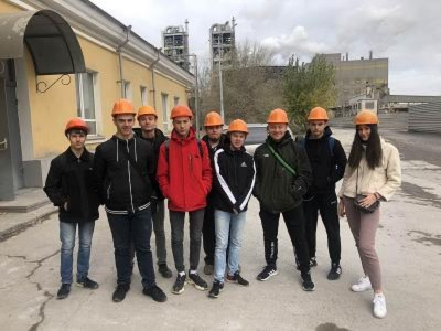 Экскурсия студентов на предприятие АО «Себряковцемент»
