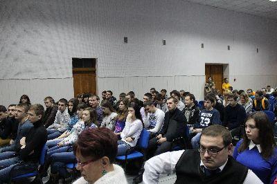 Встреча со студентами ГБПОУ «Себряковский технологический техникум»