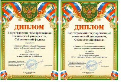 Наши студенты в 2020 году стали  победителями всероссийских и международных олимпиад и конкурсов, проводимых молодёжным союзом экономистов и финансистов РФ