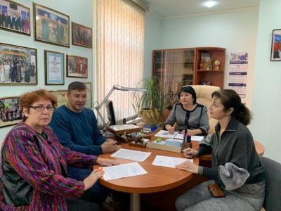 В Себряковском филиале состоялась встреча с генеральным директором АО