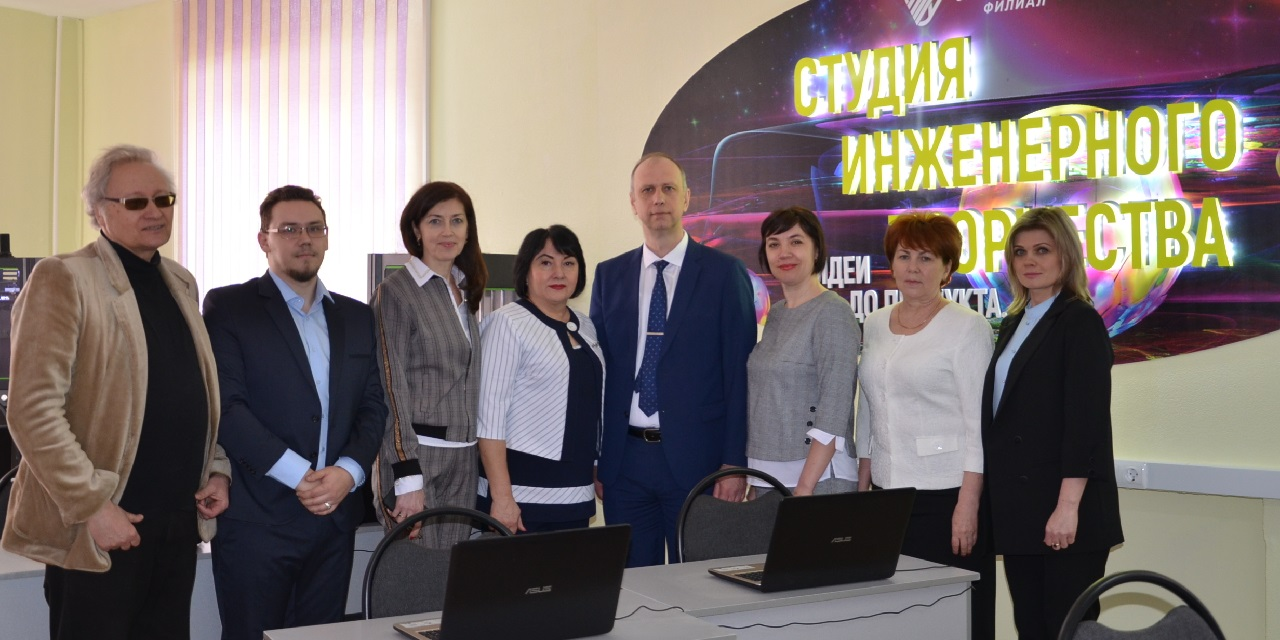 Приезд ректора в Себряковский филиал ВолгГТУ